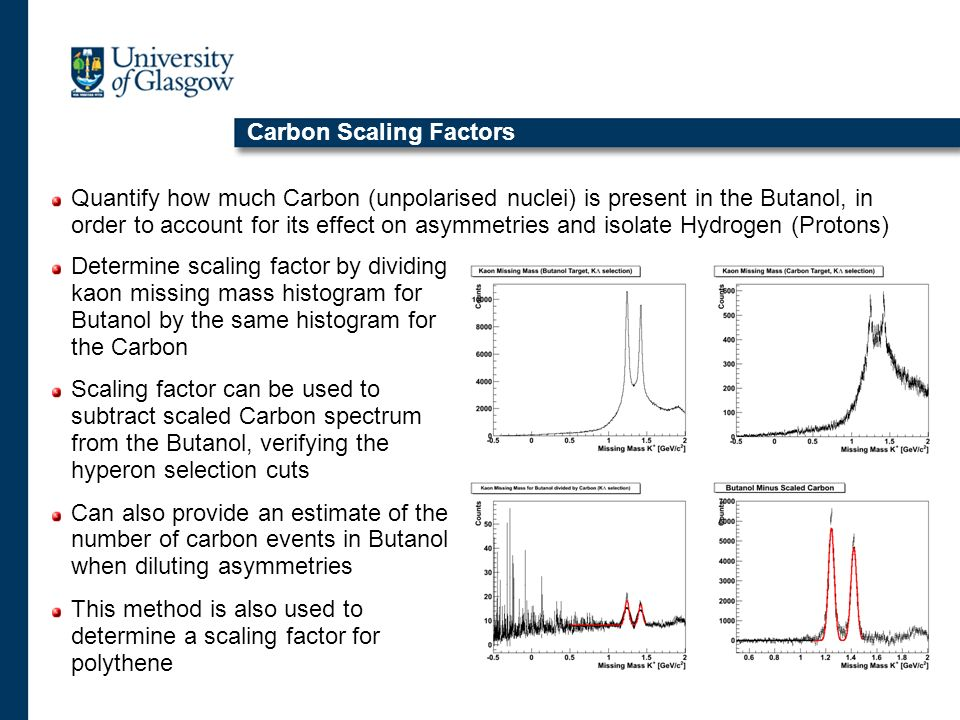 Carbon Scaling Factors