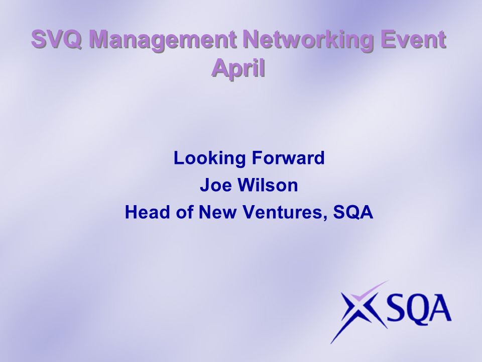 SVQ Management Networking Event April