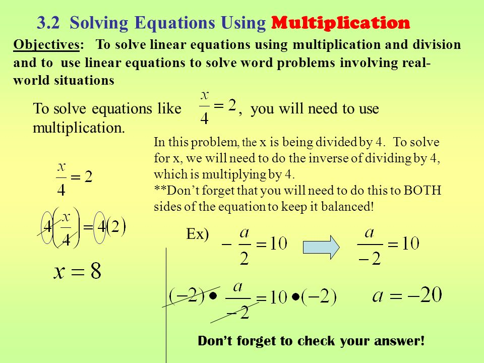fallacies of equation and division Search the world's information, including webpages, images, videos and more google has many special features to help you find exactly what you're looking for.