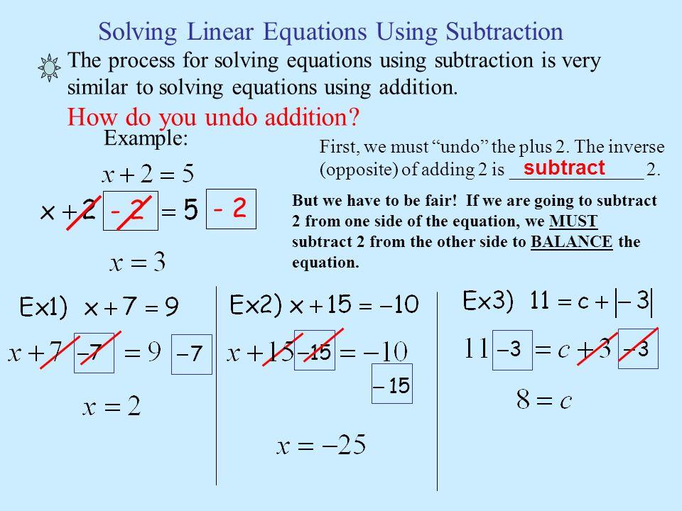 solving linear equations ppt download. Black Bedroom Furniture Sets. Home Design Ideas