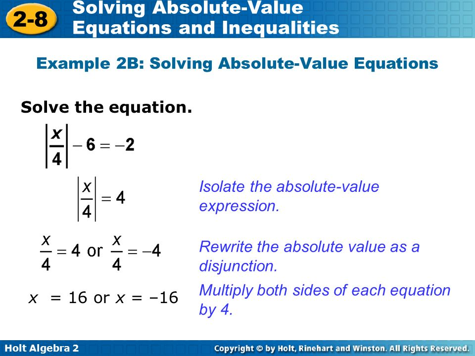 how to write absolute value expressions