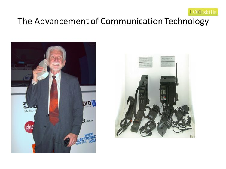 The Advancement of Communication Technology