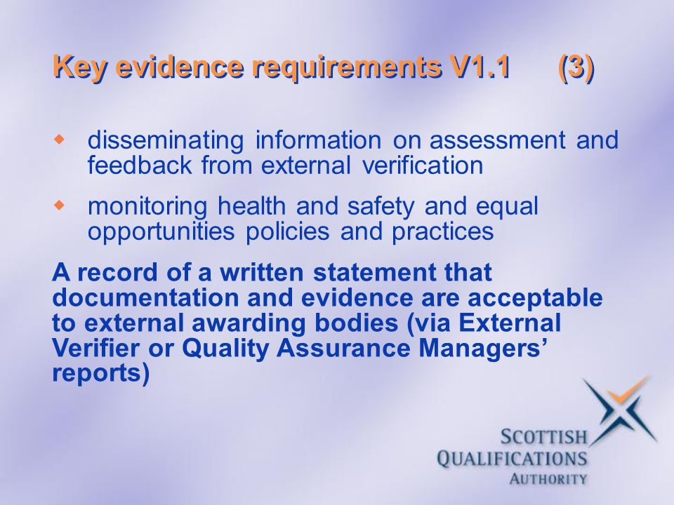 Key evidence requirements V1.1 (3)