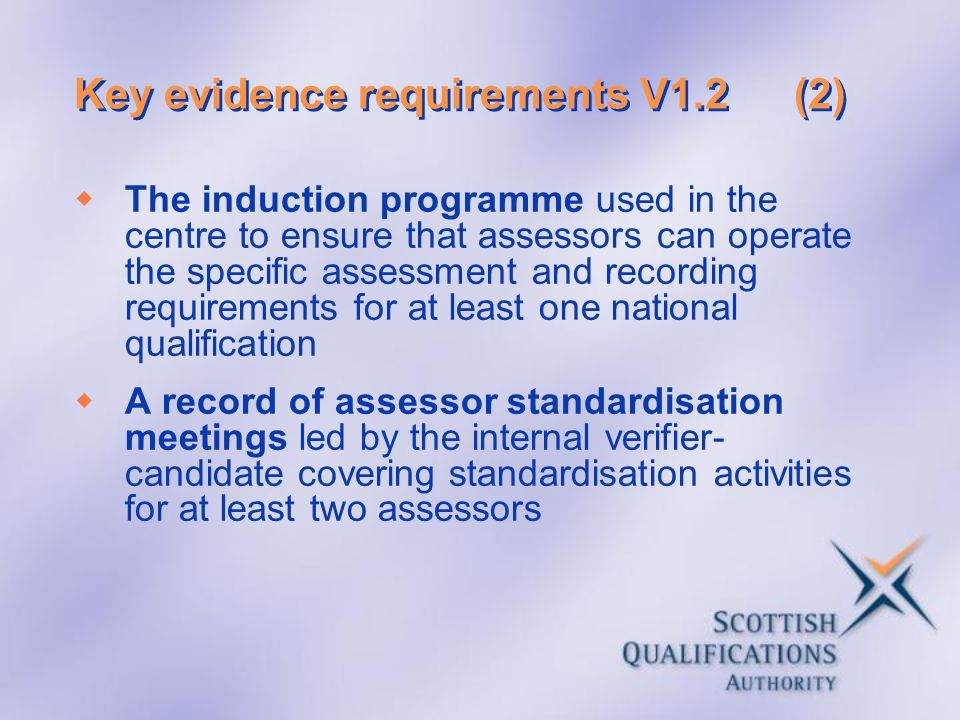 Key evidence requirements V1.2 (2)