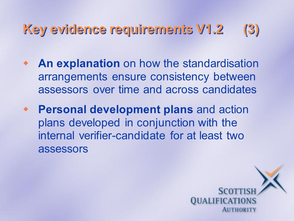 Key evidence requirements V1.2 (3)