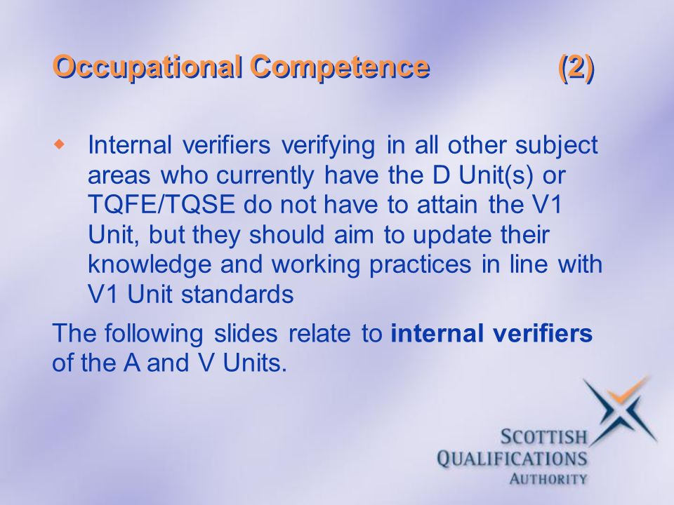 Occupational Competence (2)