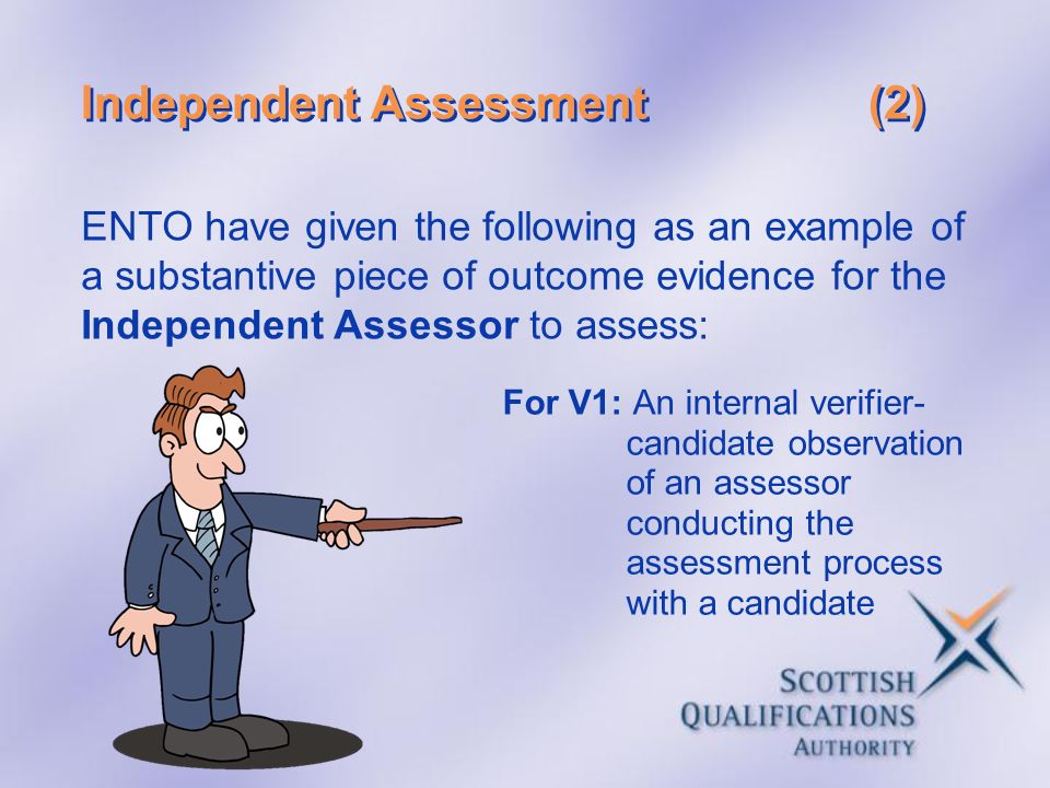 Independent Assessment (2)