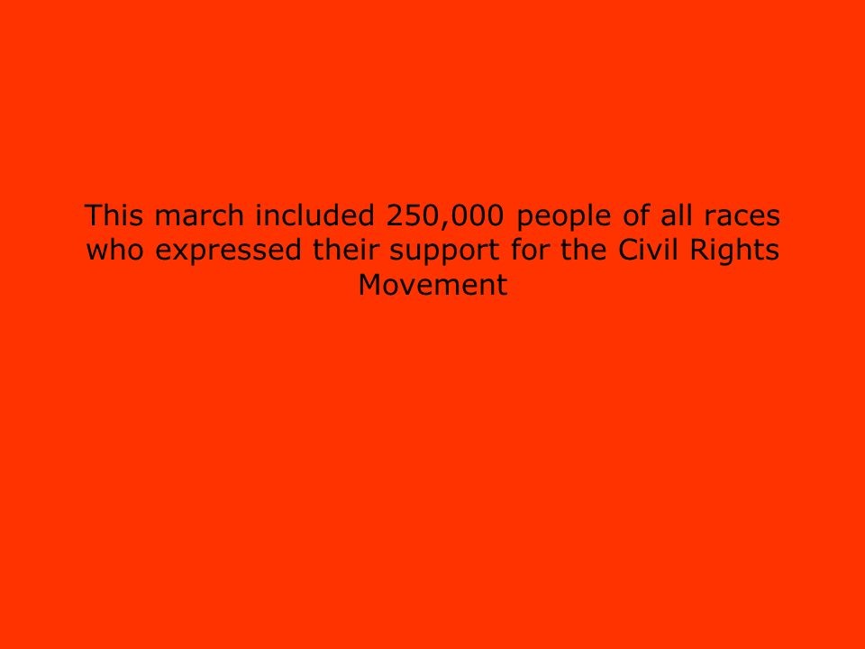 civil rights act of 1964 march on washington march from selma to montgomery alabama brown v board of Brown v board of education montgomery bus birmingham jail march on washington civil rights act of 1964 selma march voting rights act of 1965 founding of black panthers assassination of mlk civil rights act of 1968 b-2.