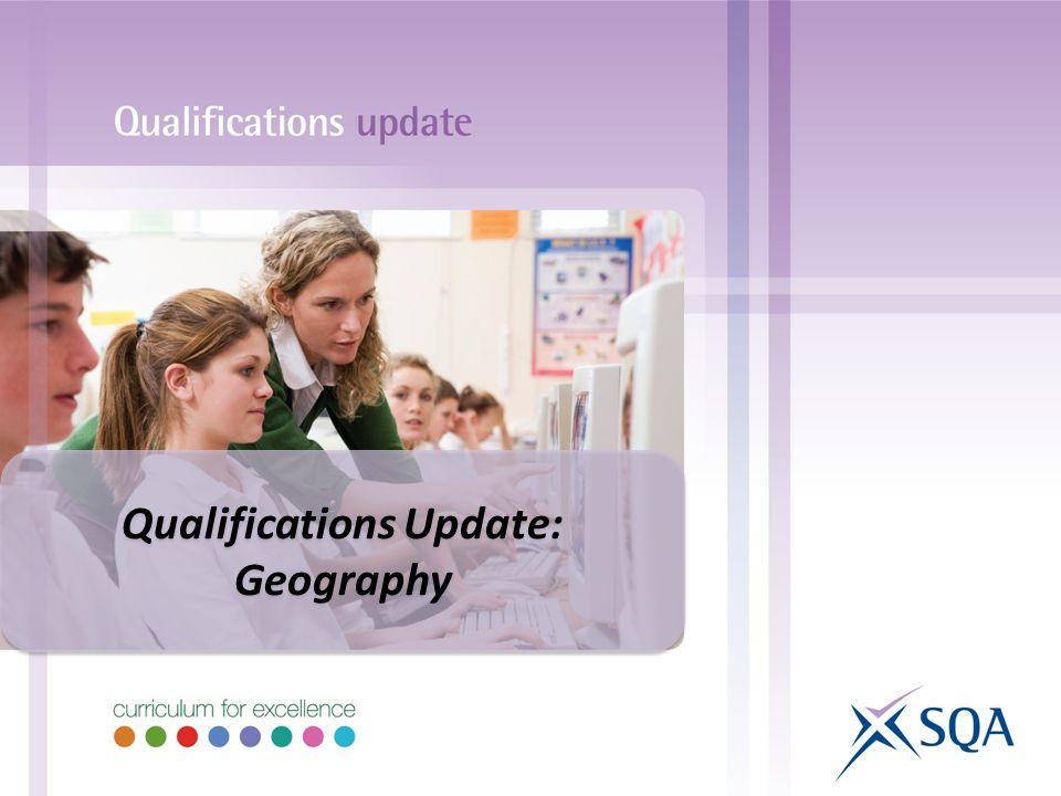 Qualifications Update: