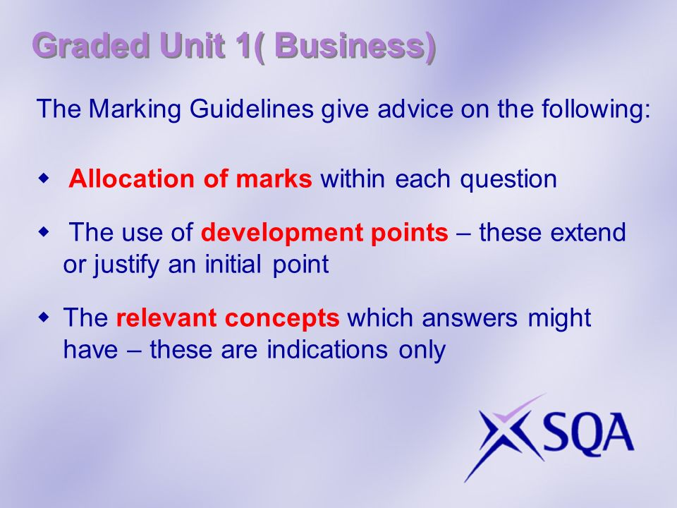 Graded Unit 1( Business)