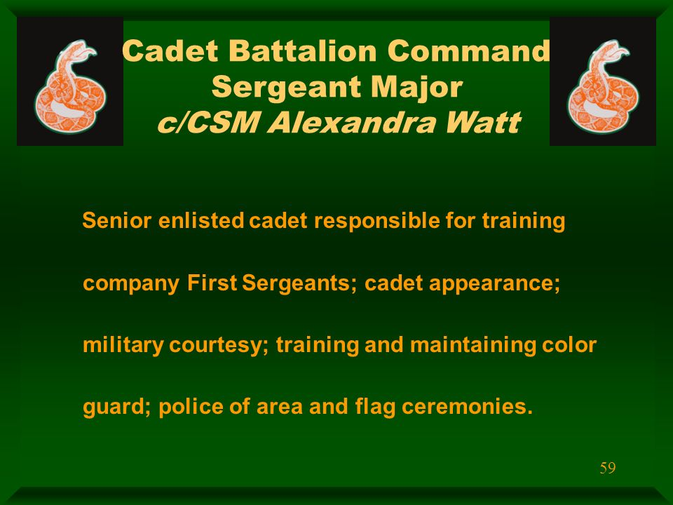 cadet dating enlisted The united states air force academy reserves a number of admissions for enlisted airmen sadly, a majority of these appointments go unfilled, and the air force and.