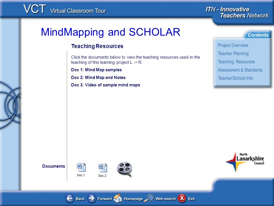 Teaching Resources Click the documents below to view the teaching resources used in the teaching of this learning project L -> R: