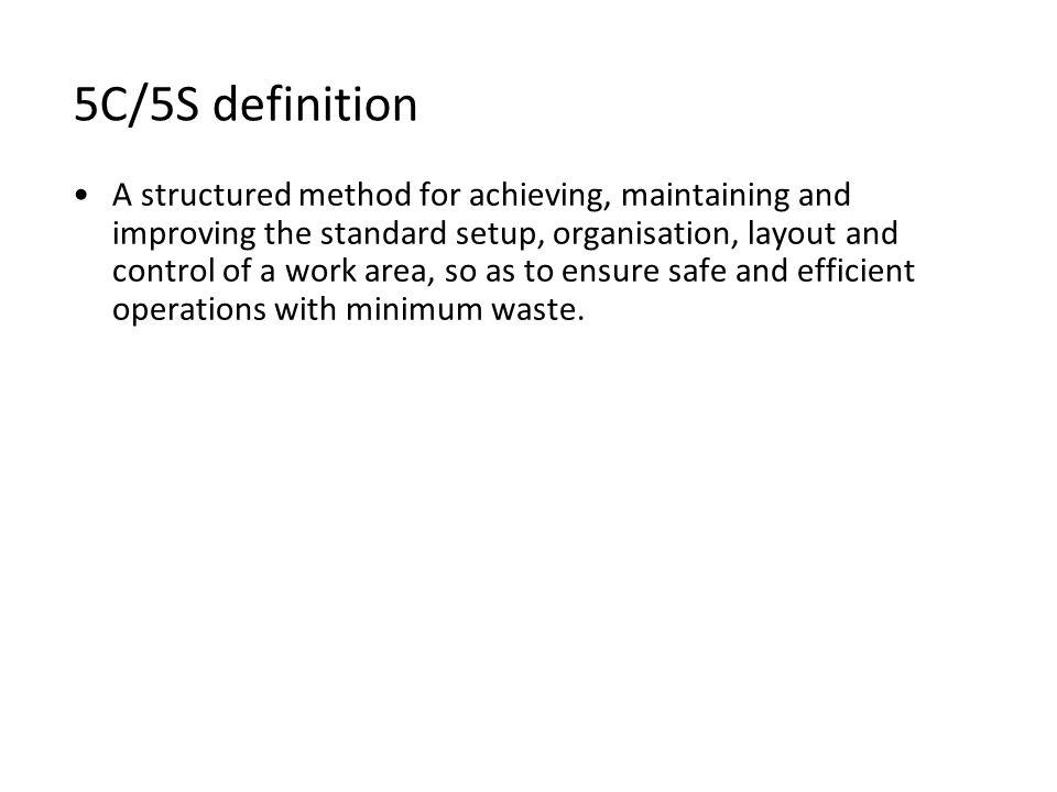 5C/5S definition