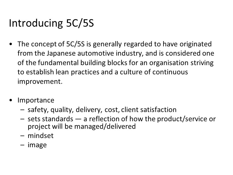 Introducing 5C/5S