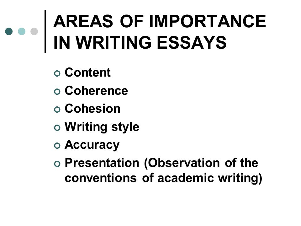 essay structure importance Writing effective paragraphs an important key to good essay writing is effective paragraphing basically, when you start a new idea, you should start a new paragraph.