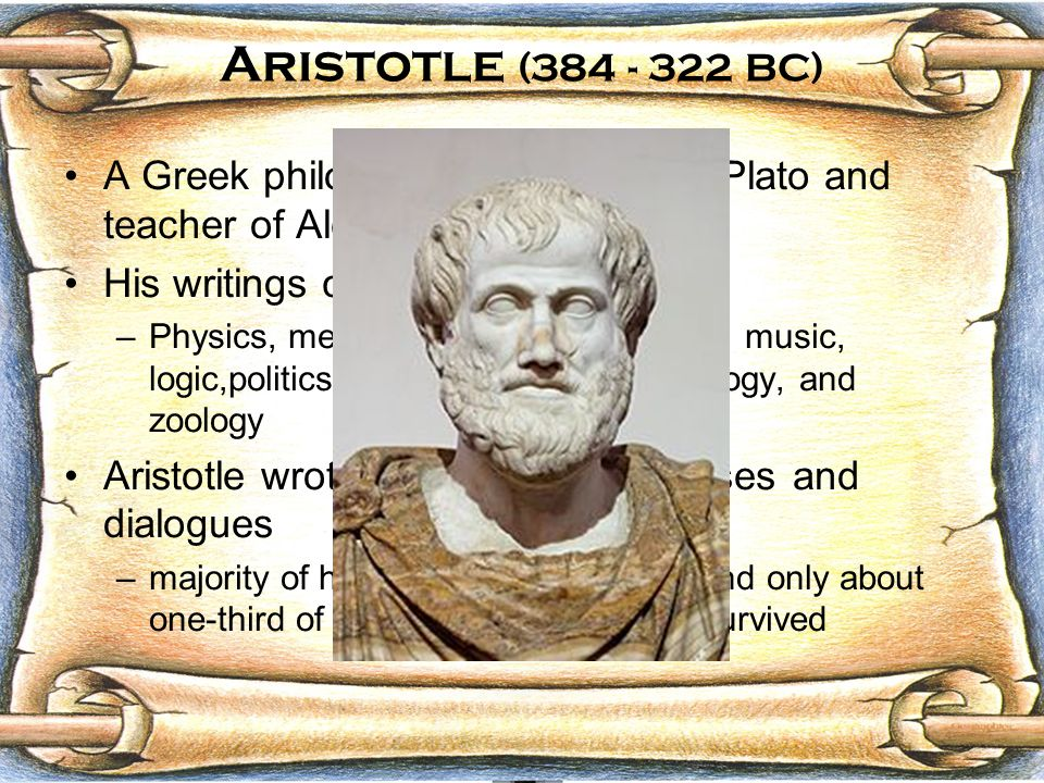 a comparison of teachings by plato and aristotle in politics Get an answer for 'confucius, socrates, plato, and aristotle are important in the history of philosophy providing examples, how do their teachings compare' and find homework help for other history questions at enotes.