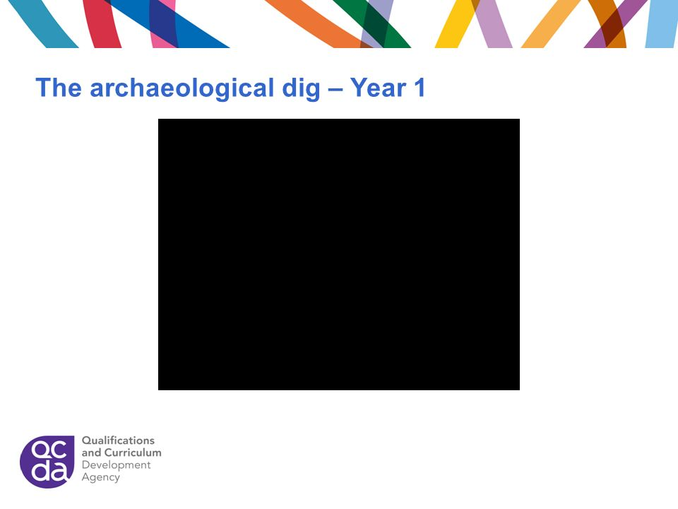 The archaeological dig – Year 1
