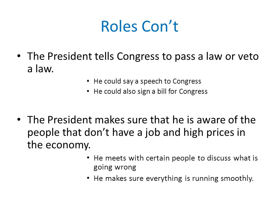 US Presidents Grade 3 By Katie Esken ED ppt download – Roles of the President Worksheet