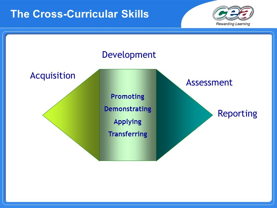 The Cross-Curricular Skills
