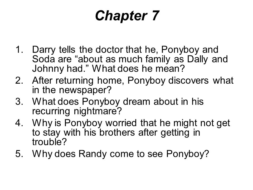 chapter one book report for johnny How to write a good summary for a book report many grade school and high school english classes require their students to complete book reports often, it is difficult to know what to include and leave out of your report.