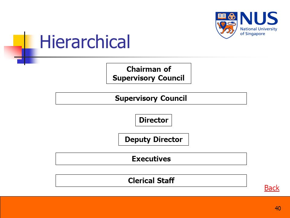 Chairman of Supervisory Council