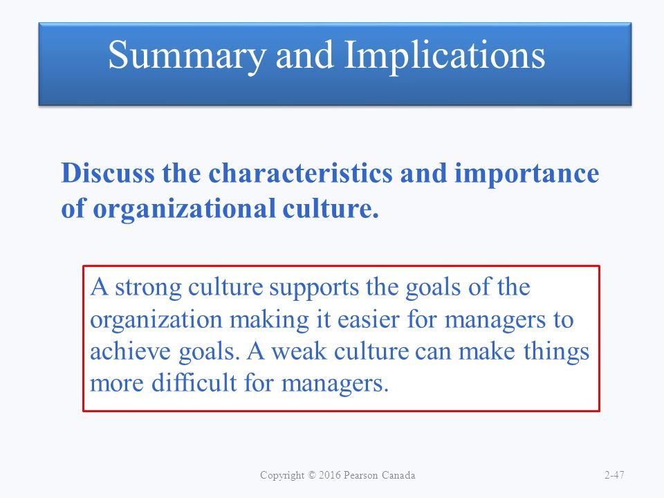 a discussion on the importance of organization in a company The employees – the most important asset in the organizations delegation of powers gets its importance at company's culture of the organization.