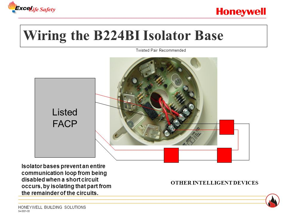 Wiring+the+B224BI+Isolator+Base intelligent control panel slc ppt video online download Fire Lite by Honeywell at n-0.co