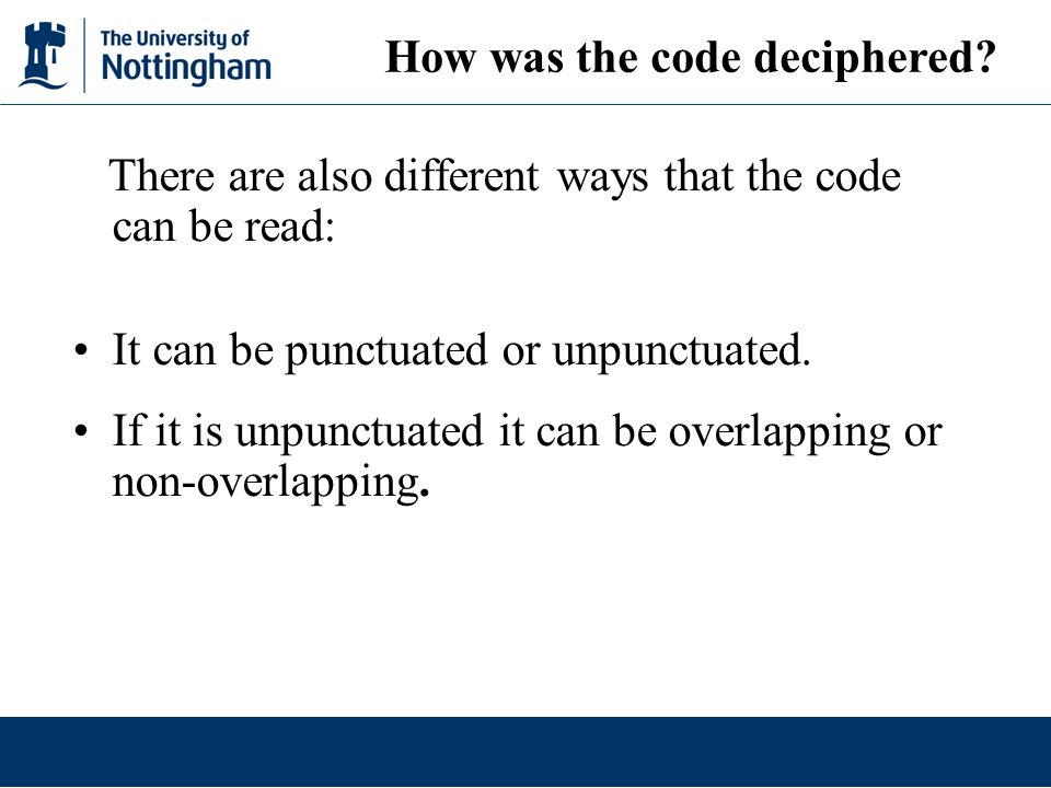How was the code deciphered