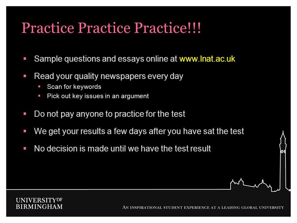 Practice Practice Practice!!!