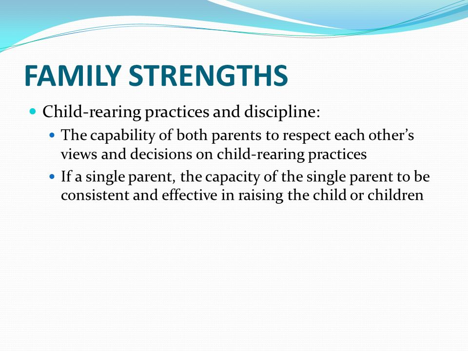 punishment in child rearing practice About child rearing practices child rearing practices, rewards and punishment the education system of an entire country may support a child-rearing practice.