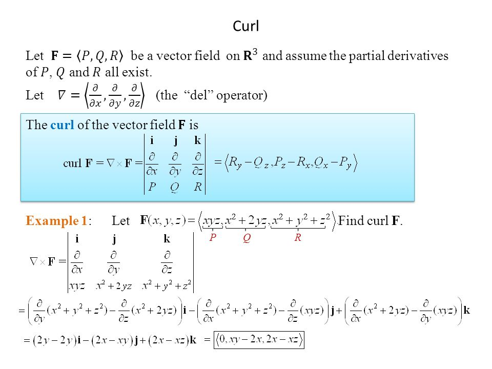 Wonderful conservative vector field curl images