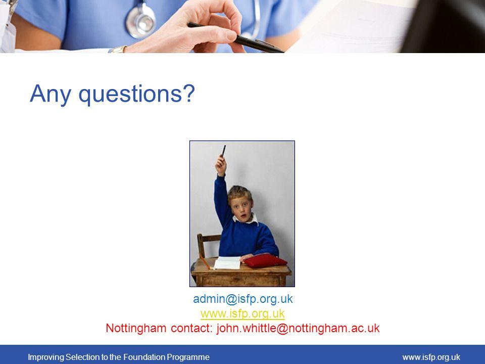 Nottingham contact: john.whittle@nottingham.ac.uk