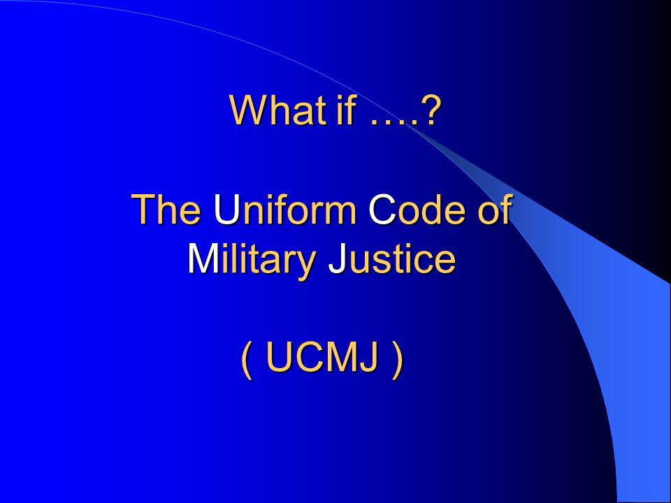accountability ucmj articles 85 86 Assigns shared funding responsibility to the dod component heads and the  commandant  the offenses listed in this table are found in the punitive articles  of chapter 47 of reference (c)  article 85 – desertion article 86 – absence  without leave for more than 30 days and terminated by apprehension.