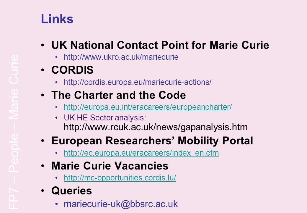 FP7 – People – Marie Curie