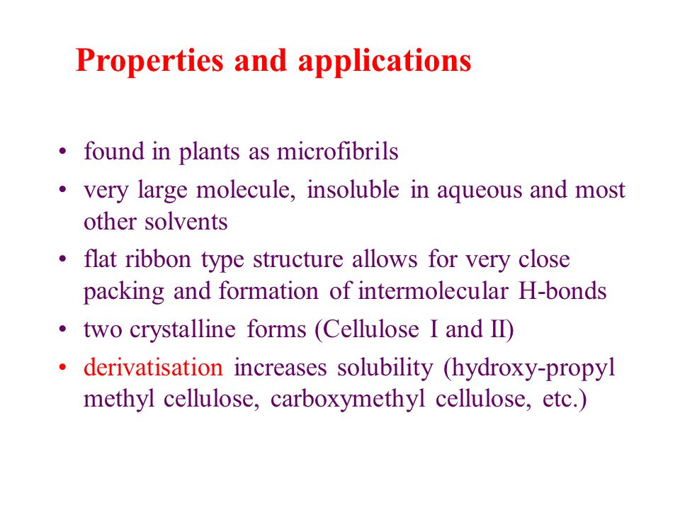 Properties and applications