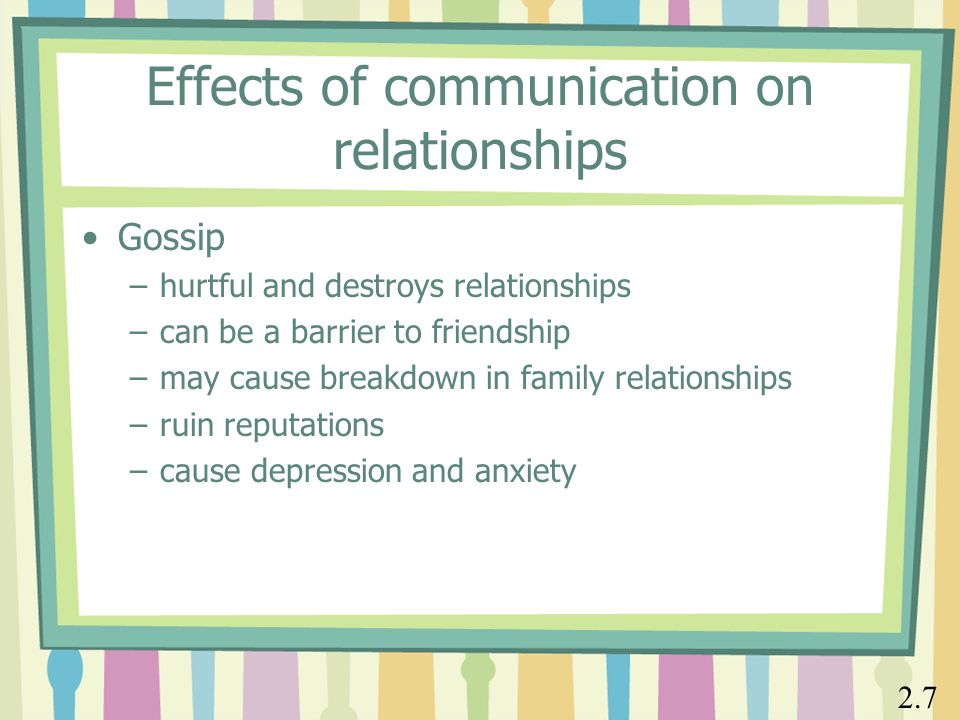 can relationship breakdown cause depression