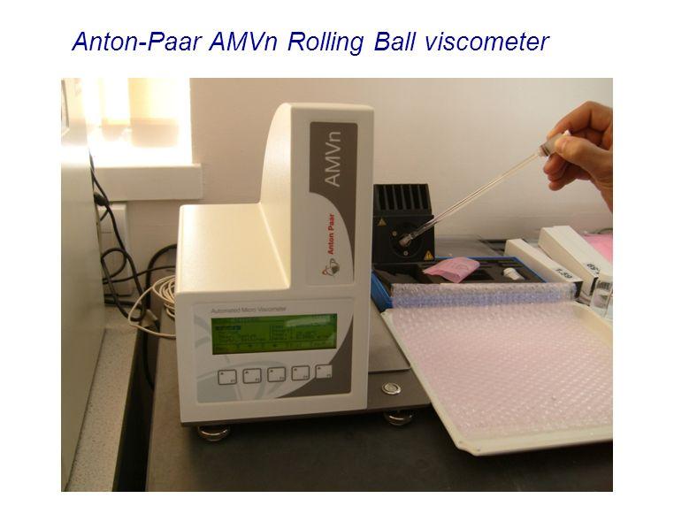 Anton-Paar AMVn Rolling Ball viscometer