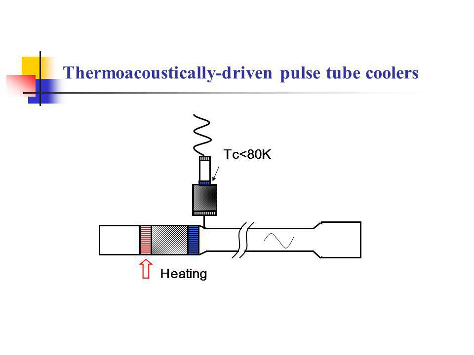 Thermoacoustically-driven pulse tube coolers