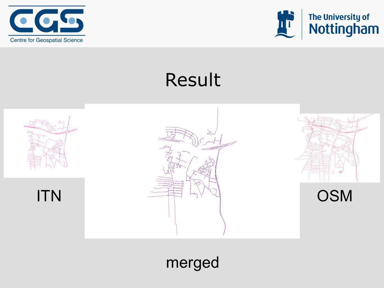 Result ITN OSM merged