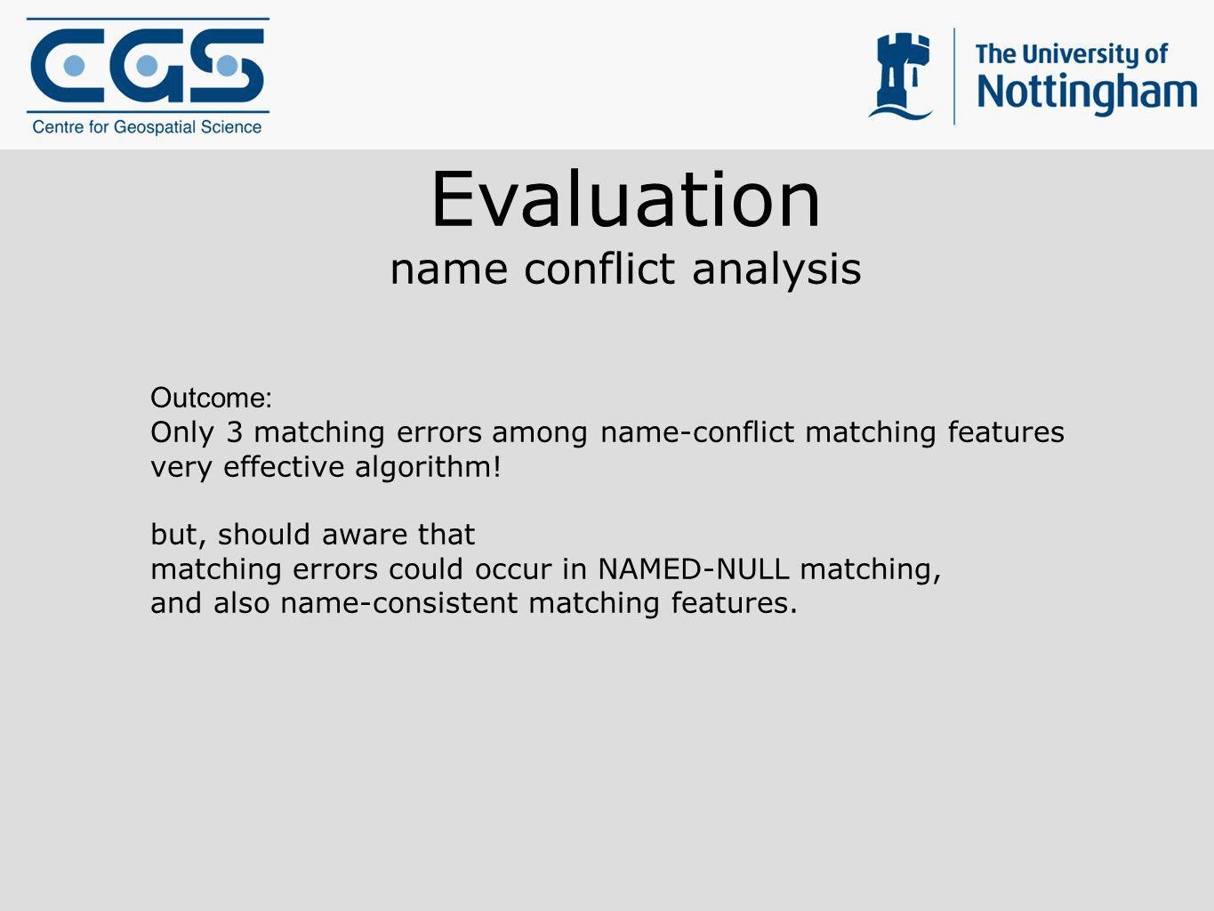 name conflict analysis