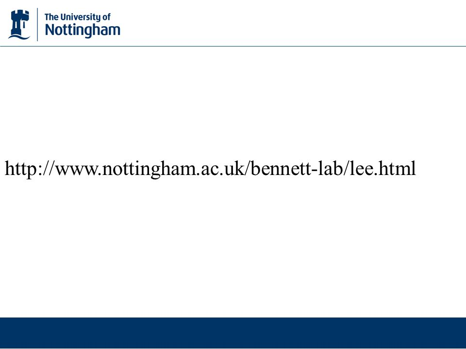http://www.nottingham.ac.uk/bennett-lab/lee.html