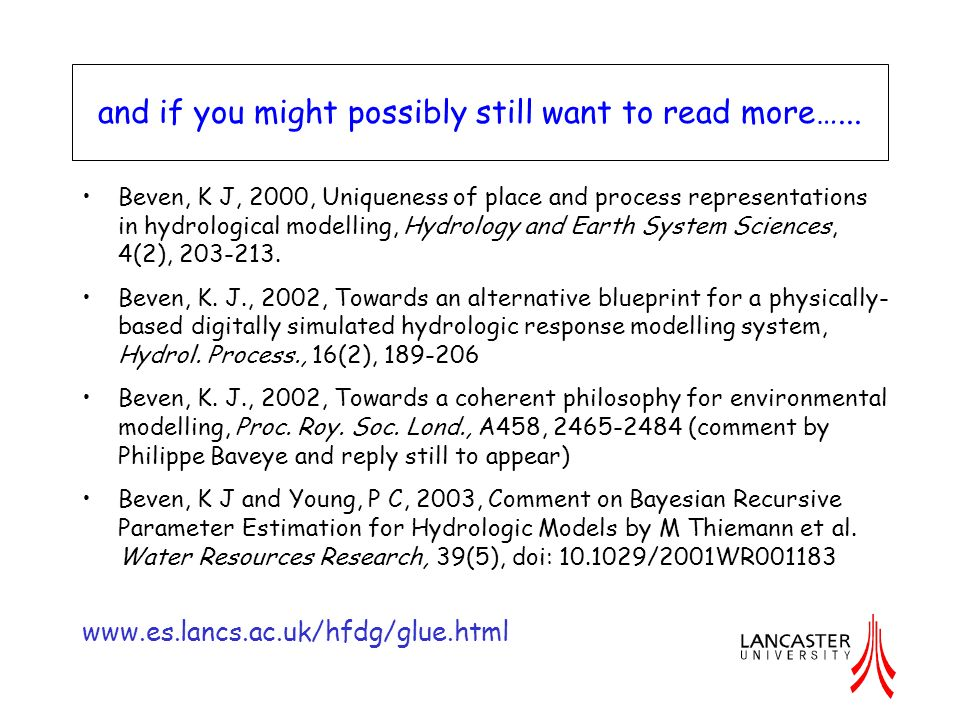 and if you might possibly still want to read more…...