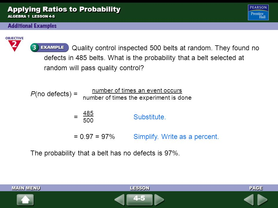 probability ratios Profitability ratios are financial metrics used by analysts and investors to measure  and evaluate the ability of a company to generate income (profit) relative to.