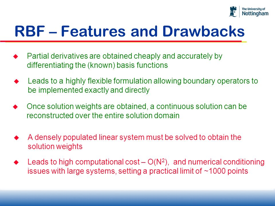 RBF – Features and Drawbacks
