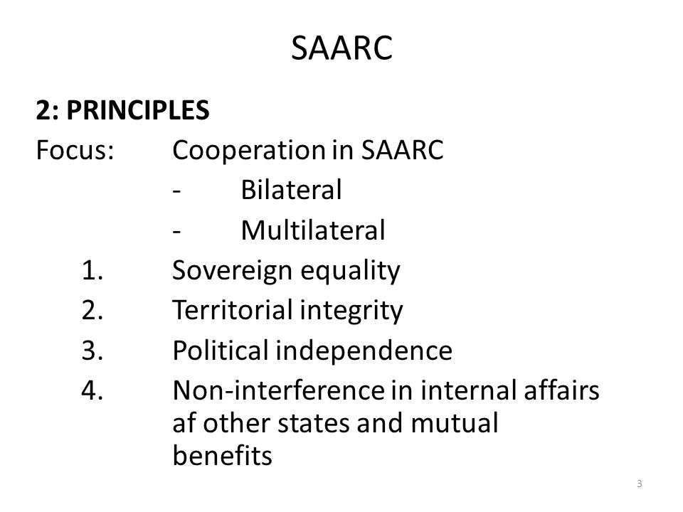 future of saarc Considering these factors, it becomes important to assess challenges lying  before saarc and its future wrt the changing geopolitical.
