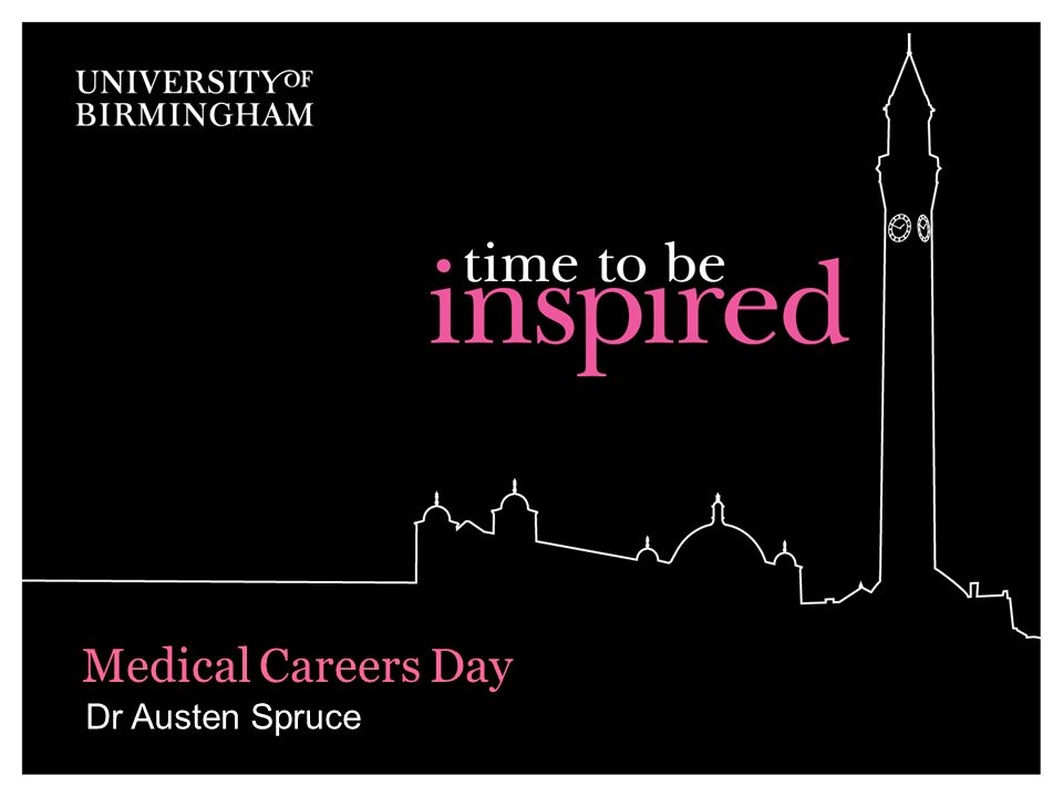 Medical Careers Day Dr Austen Spruce