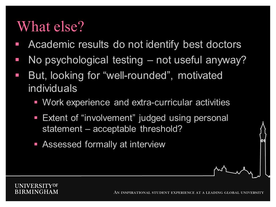 What else Academic results do not identify best doctors
