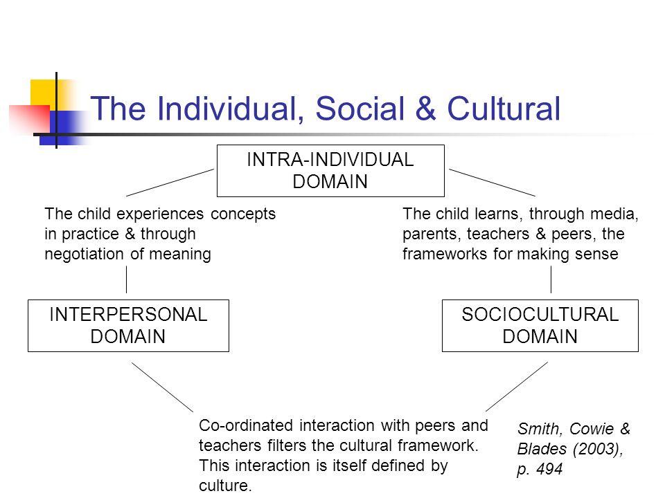 The Individual, Social & Cultural