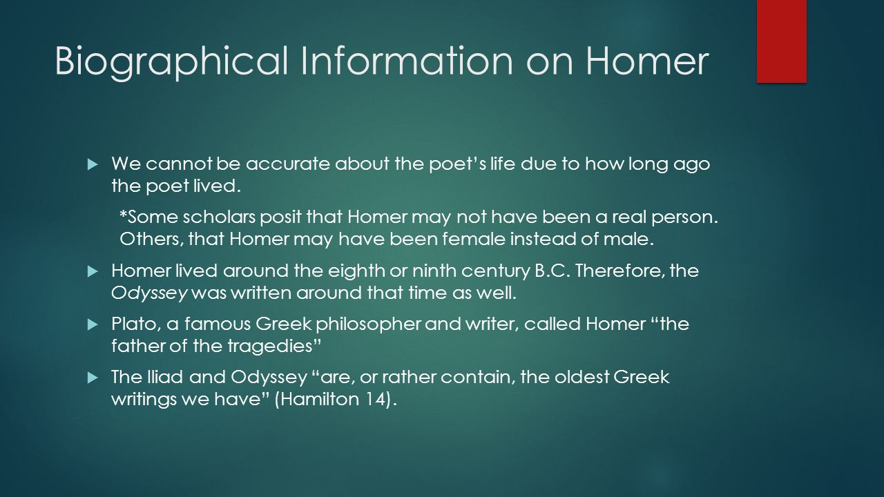 The Odyssey By Homer Ppt Video Online Download