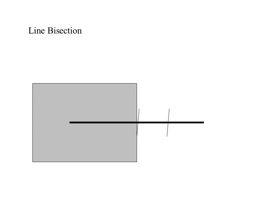 Line Bisection